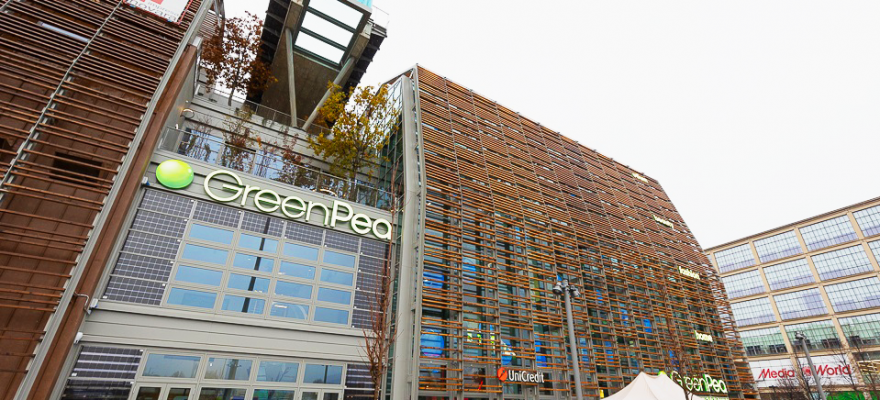 """FUTURO_Shopping sostenibile inaugura a Torino il centro commerciale """"Green Pea"""""""