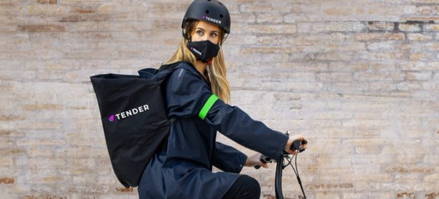 Arriva Tender, delivery del lusso