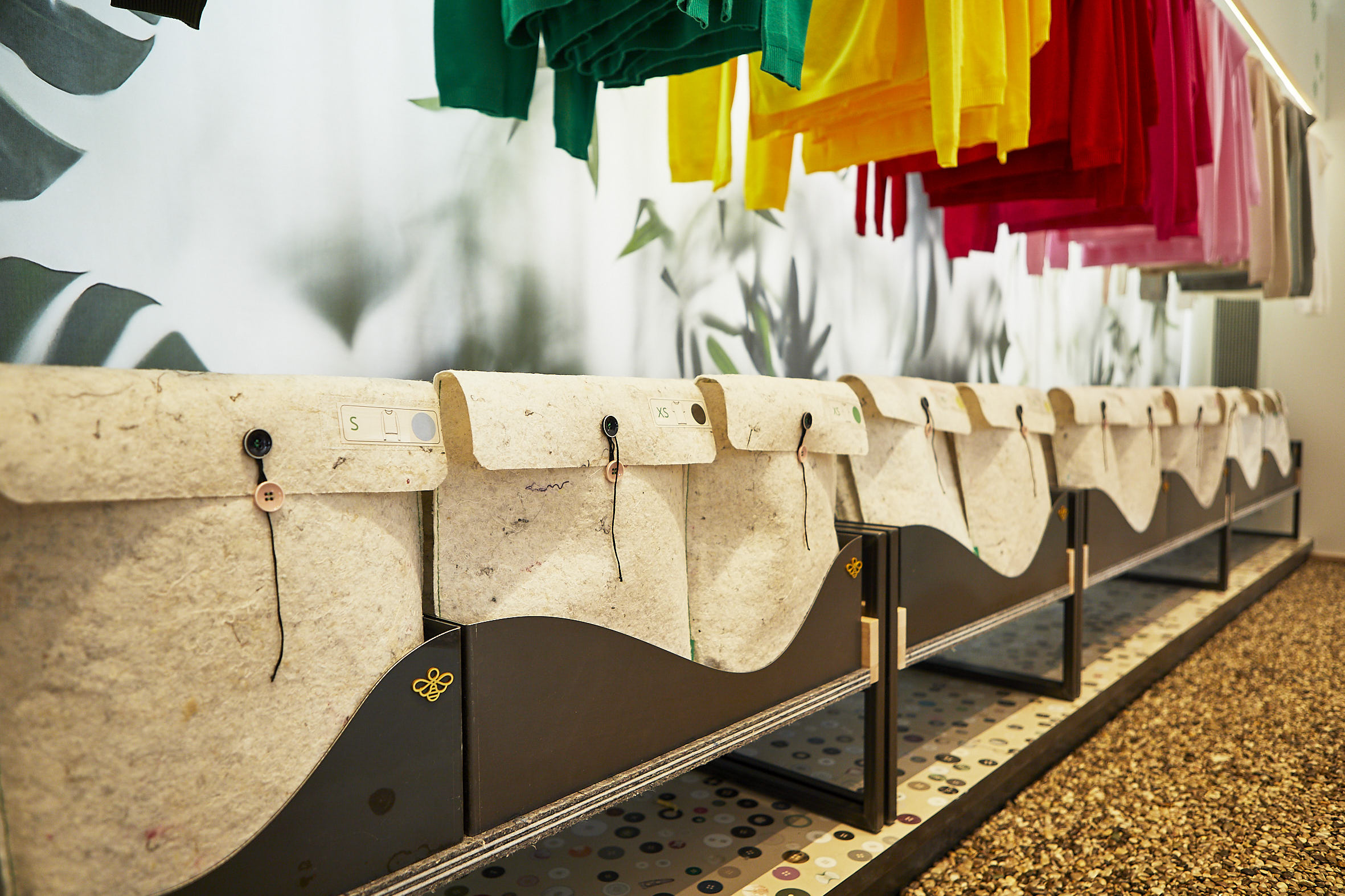 (L'interno dello store fiorentino. Foto: Benetton)